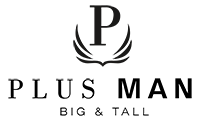 Elastische Viskose-Businesshose von Plus Man