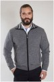 Strickjacke von Plus Man aus Wolle / Polyester.
