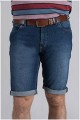 5-pocket elastische Denim-Shorts von Pionier
