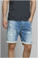5-Pocket elastische Jeans-Bermuda von Jack & Jones