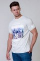 D555 Kurzarm-T-Shirt New York.