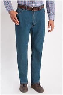 Elastische 5-Pocket-Jeanshose von Rockford.