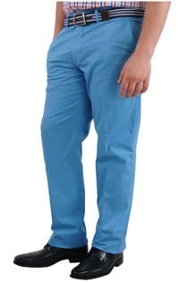 Casual Stretch Hose von Plus Man