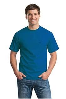 Unifarbiges kurzarm T-Shirt von Casamoda.