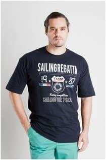 T-Shirt mit kurzen Ärmeln Plus Man Regatta.