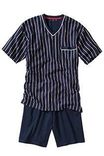 Pyjama mit kurzen Ärmeln und kurzen Hosen von Götzburg.