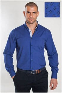 Bedrucktes Oberhemd von Plus Man