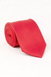 Extra lange gemusterte Krawatte von Plus Man.