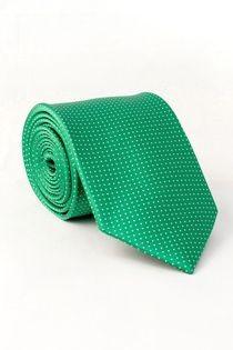 Gemusterte Krawatte von Plus Man.