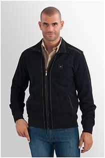 Jacke von Monte Carlo aus 100% Baumwolle.