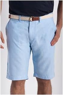 Uni Bermuda Shorts Oxford von Plus Man.
