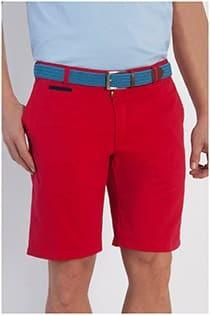 Uni Bermuda Shorts aus Baumwolle von Plus Man.