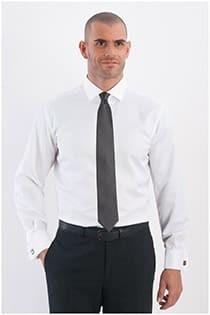 Uni Herrenoberhemd van Plus Man.