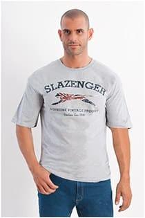 T-Shirt mit kurzen Ärmeln von Slazenger.