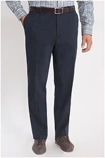 Elastische Hose aus Baumwolltwill von D555.