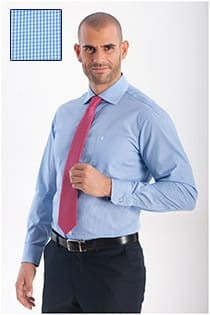 Extra langes Herrenoberhemd von Casamoda, pflegeleicht.