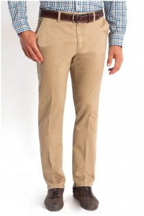 Extra lange Chinohose mit Stretch von Plus Man.