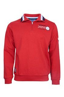 Uni Langarm-Polohemd von Redfield.