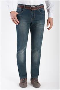 Extra lange, elastische 5-Pocket-Jeans von KAM Jeanswear.