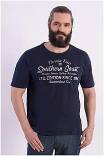 Kurzarm T-Shirt mit Aufdruck von Kitaro.
