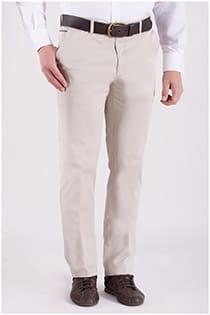 Extra lange elastische Chinohose aus Baumwolle von Plus Man.