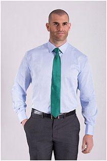 Uni Langarm-Dresshemd von Plus Man, extra lang.