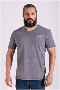 Vintage gewaschenes Kurzarm-T-Shirt von Redfield.