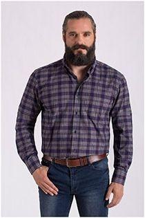 Langarm-Flanellhemd von Carlos Cordoba.