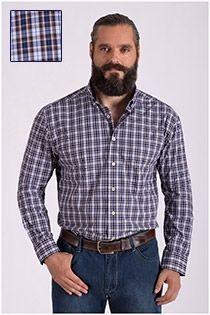 Langarm-Oberhemd aus Baumwolle von Haupt.