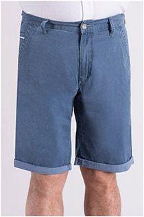 Elastische 5-Pocket-Bermudashorts von Pionier.