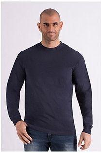 Langarm-T-Shirt aus Baumwolle von Redfield.