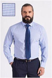 Dresshemd in Langgrößen von Plus Man.