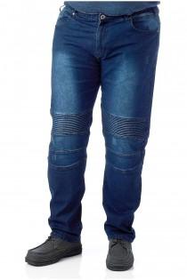 5-Pocket Stretch-Jeans von D555.