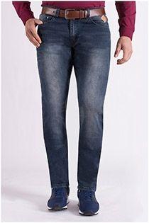 Elastische 5-Pocket-Jeanshose von KAM Jeanswear.