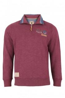 Sweatshirt mit Troyerkragen von Redfield.