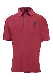 Vintage Langarm-Polohemd von Redfield.