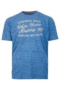 Kurzarm-T-Shirt von Redfield mit Brustprint