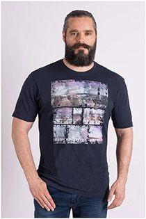 Kurzarm-T-Shirt von Kitaro.