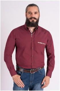 Uni Langarm-Oberhemd von Plus Man, EXTRA LANG.