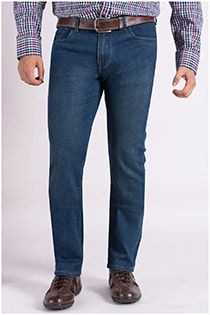 5-Pocket-Jeans von Plus Man.