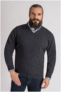 Lammwoll-Pullover von Kitaro.