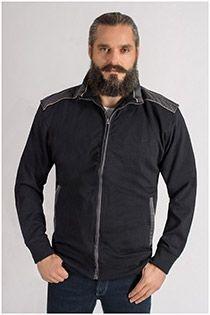 Extra lange Baumwolljacke von KAM Jeanswear.