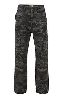 Camouflage Cargohose von KAM Jeanswear.