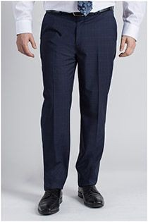Extra lange Hose aus Viskose ohne Bundfalte