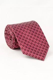 Gemusterte EXTRA LANGE Krawatte von Plus Man.