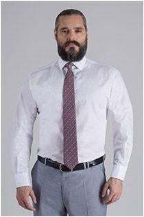 Langgrößen Dresshemd von Plus Man.