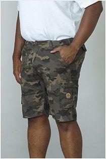 Camouflage-Shorts von D555