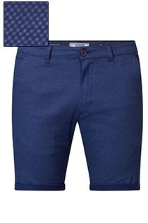 Elastische Shorts von D555 mit Allover-Print