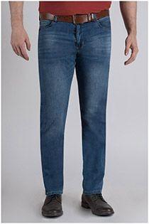 Elastische 5-Pocket Jeanshose von Koyote.