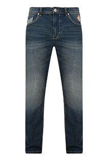 Extra lange 7-Pocket-Stretchjeans von KAM Jeanswear.